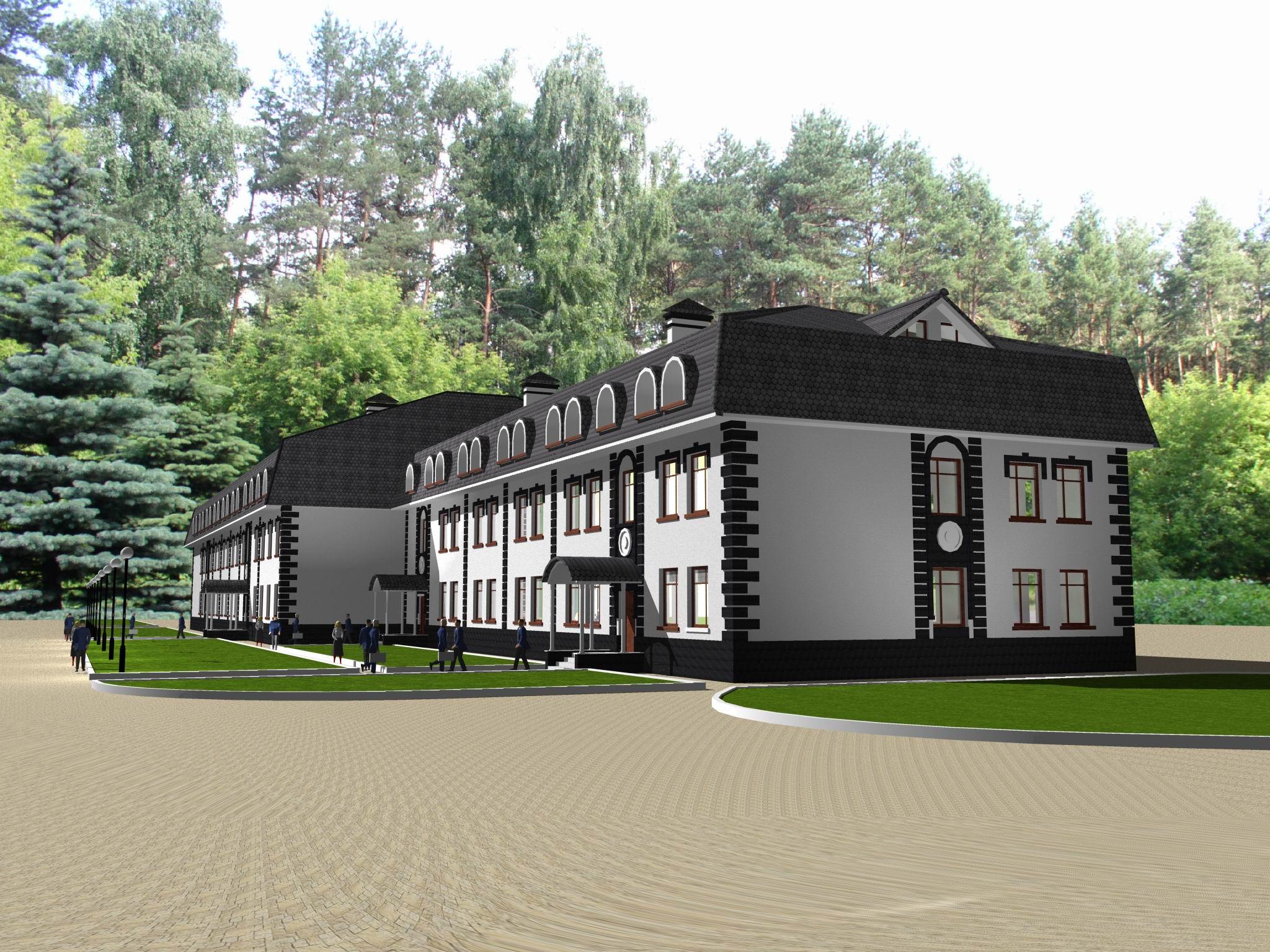 Проектирование офисного здания, Москва