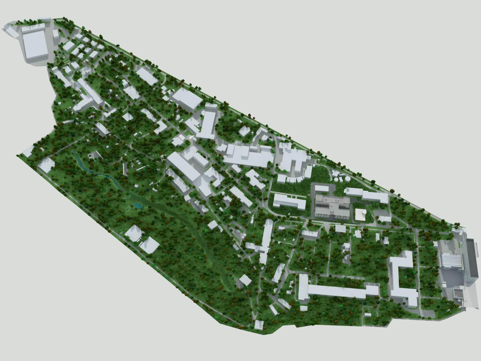 Проектирование генерального плана, Москва